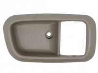 2000-2006 TOYOTA TUNDRA INSIDE HANDLE BEZEL RH (PASSENGER) GRAY CHARCOAL