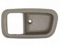2000-2006 TOYOTA TUNDRA INSIDE HANDLE BEZEL LH (DRIVER) GRAY CHARCOAL