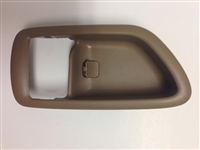 00-06 Tundra (double cab) Interior Door Handle Case RH - Brown (Oak)