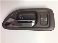 94-97 Accord 4DR Interior Door Handle LH - Brown