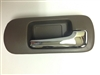 01-05 Civic 4DR Interior Door Handle RH - Chrome/Brown