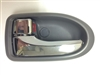 00-06 MPV Van Interior Door Handle LH - Chrome/Dark Gray