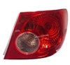 2005-2008 TOYOTA COROLLA TAIL LAMP RH QUARTER MOUNTED	 (PASSENGER)