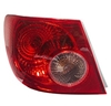 2005-2008 TOYOTA COROLLA TAIL LAMP LH QUARTER MOUNTED	 (DRIVER)