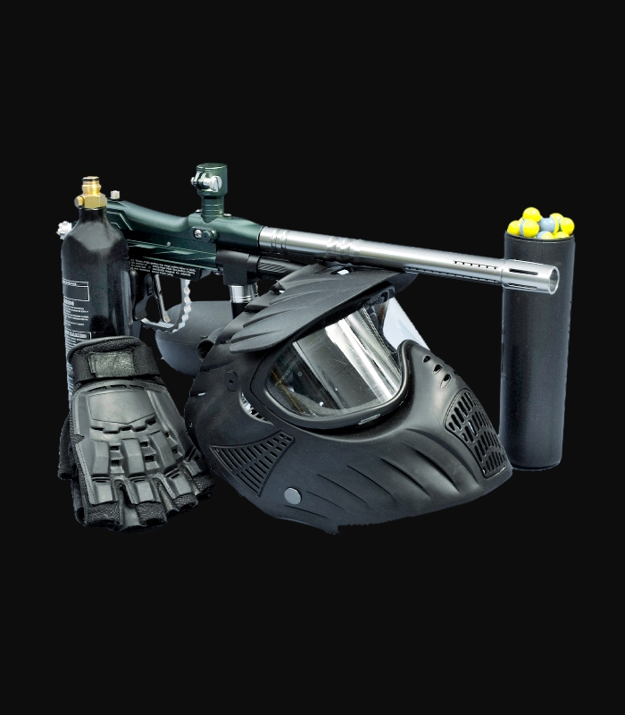 Advanced Paintball Gun Combo