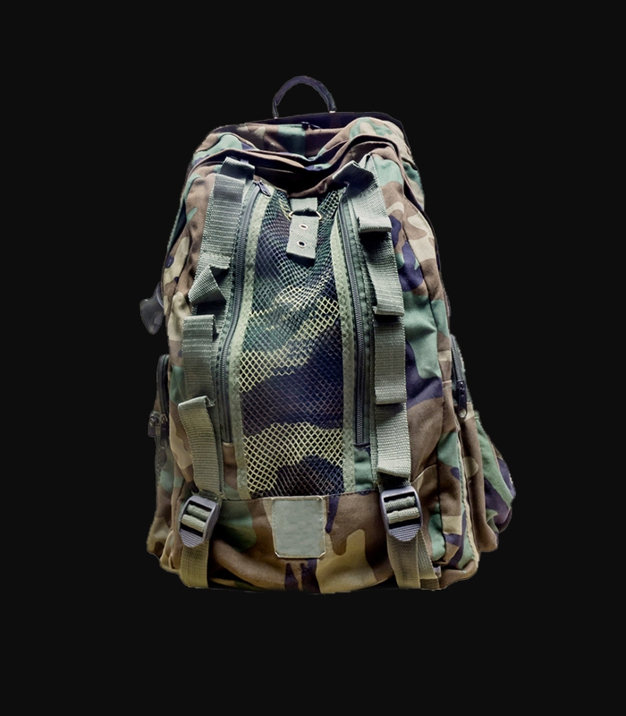 Heavy Camo Day Pack