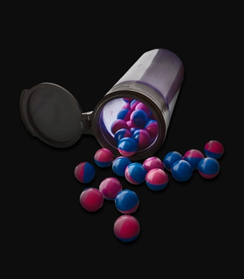 144 Blue/Pink Paintballs