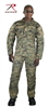 Rothco 5214 Woodland Digital Combat Uniform Shirt, XSmall-Large