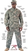 Rothco 5765 A.C.U. Digital Camouflage Shirt, Small-Large