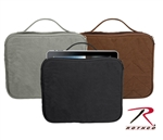 Vintage Canvas iPad/Netbook Pouch, Black