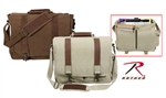 Vintage Pathfinder Laptop Bags-Brown, Khaki