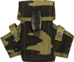 Camouflage M-16 Clip Pouch