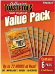 HeatMax Toe Warmers Value Pack - 6 Pair