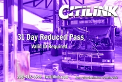 Reduced 31 Day Pass*