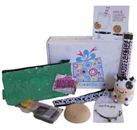 Boodle Box for girls with back to school goodies that makes a great gift for girls of all ages.