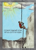 Confirmation Rock climber