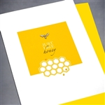 "Any Occasion "" Honey ""  ANY37 Greeting Card"