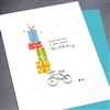 "Birthday  "" A Lot Of Gifts ""  BD313 Greeting Card"