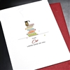 "Graduation  "" Cap Looks Good ""  GD16 Greeting Card"