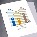 "New Home  "" Dog ""  NH13 Greeting Card"