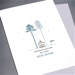 "New Home  "" Cabin ""  NH14 Greeting Card"