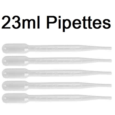 FCPLG - Pipettes - 5 Pack