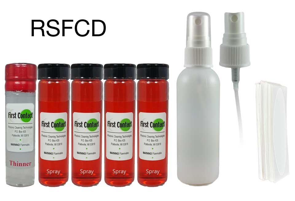 RSFCD - Red Spray First Contact Deluxe Kit