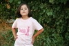 Born to be a Cowgirl Youth Tee in Pink