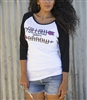 Follow Your Arrow Baseball Tee by Original Cowgirl