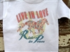 Live In Love, Ride In Peace Toddler or Youth Tee