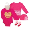 My Heart Belongs to Mommy Baby Girl Gift Set