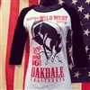 Oakdale Rodeo Baseball Cut Tee