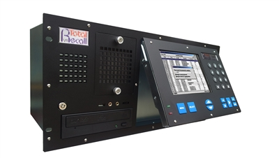 TRVR-LA+A4 Rackmount Phone Call Recording System