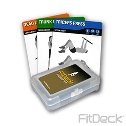 FitDeck Exercise Bar Exercise Cards