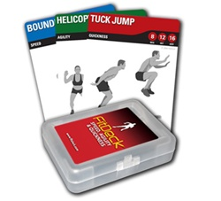 FitDeck Speed, Agility, Quickness exercise cards
