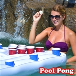Pool Pong Party Barge