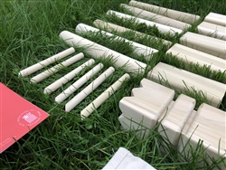 Kubb Tournament Set with Storage Bag