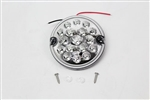 Round LED Fog light Clear (No plinth) 95mm Wipac