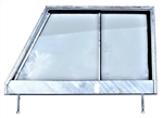 GLAZED Galvanised Series 3 Door Top RH