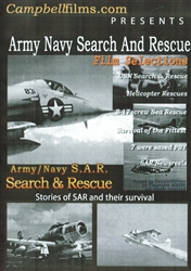 Army Navy Search and Rescue WWII Korea Vietnam DVD