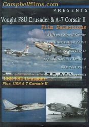 Vought F8U Crusader and A-7 Corsair II DVD