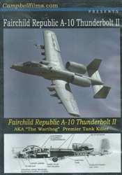 Fairchild Republic A-10 Thunderbolt II DVD
