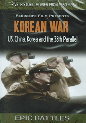 Korean War 38th Parallel Carrier Action Yalu Chosin DVD