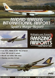 Madrid Barajas International Airport 727 A300 DC-10 DVD