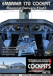 Embraer 170 Airliner Cockpit DVD