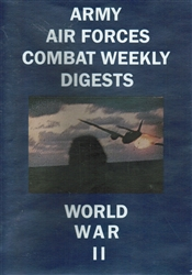 Army Air Forces Combat Weekly Digests WWII 26-30 1944 DVD