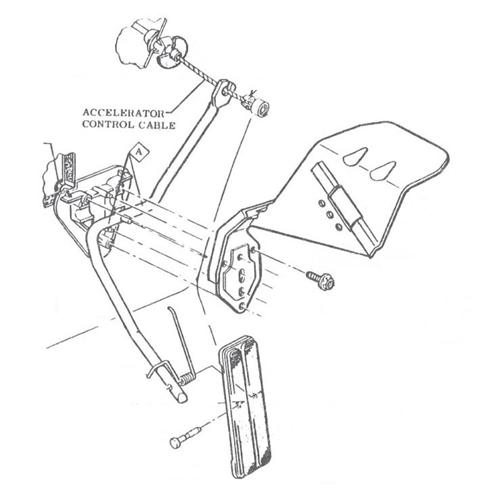 76 ford 400 vacuum diagram 1970 1981 camaro accelerator firewall gas pedal and  1970 1981 camaro accelerator firewall gas pedal and