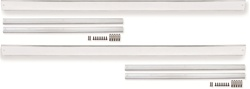 1970 - 1975 Camaro Rocker Panel Molding Set, Chrome, Replaces 481539 and 481540