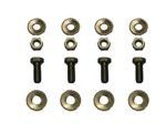 1967 - 1968 Front Bumper Bracket to Sub Frame Bolts Set, 16 Pcs