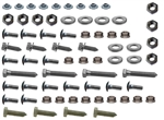 1974  - 1977 Front Bumper and Bracket Mounting Hardware Set